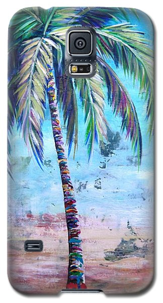 Pelican Palm I Galaxy S5 Case by Kristen Abrahamson