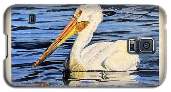 Pelican Posing Galaxy S5 Case by Marilyn McNish