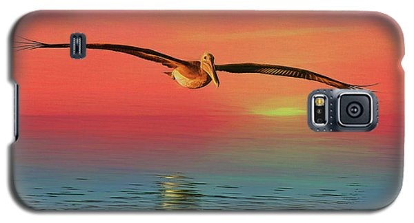 Pelican Sunset Galaxy S5 Case