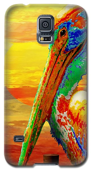 Pelican Sunset Galaxy S5 Case
