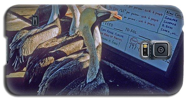 Pelicans And The Menu Galaxy S5 Case