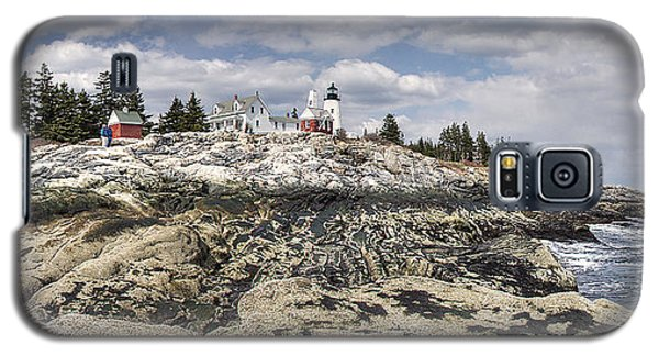 Pemaquid Light Panorama Galaxy S5 Case