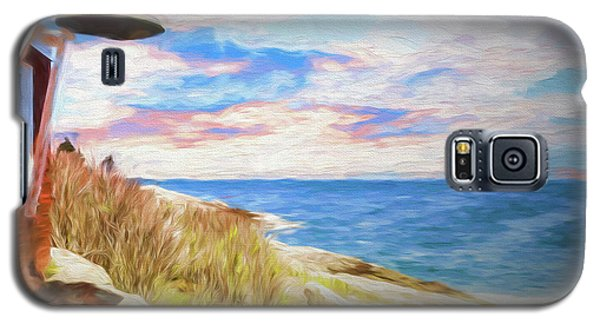 Pemaquid Lighthouse Bell On Maine Rocky Coast. Galaxy S5 Case