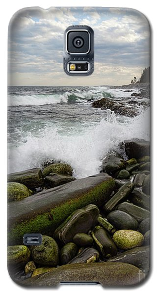 Galaxy S5 Case featuring the photograph Pemaquid Point, Bristol, Maine  -60116 by John Bald