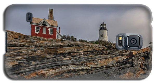Pemaquid Point Cliffs Galaxy S5 Case