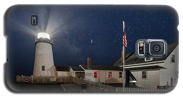 Pemaquid Point Light Flare Galaxy S5 Case