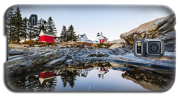 Pemaquid Point Light Reflection Galaxy S5 Case by Robert Clifford