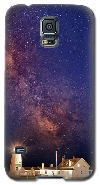 Pemaquid Point Lighthouse And The Milky Way Galaxy S5 Case