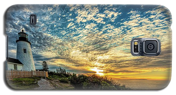 Pemaquid Point Lighthouse At Daybreak Galaxy S5 Case