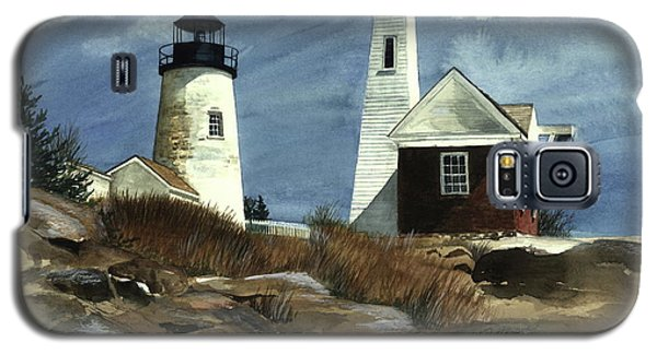 Pemaquid Point Lighthouse  Galaxy S5 Case by Nancy Patterson