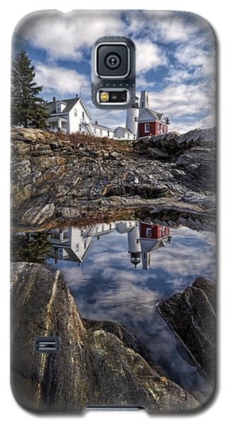 Galaxy S5 Case featuring the photograph Pemaquid Reflected by Jaki Miller