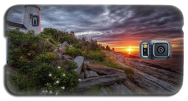 Pemaquid Sunrise Galaxy S5 Case