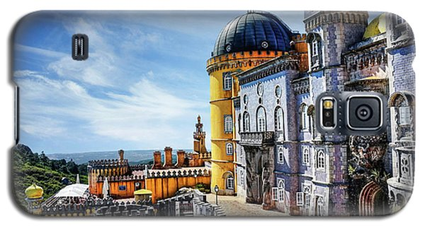 Galaxy S5 Case featuring the photograph Pena Palace In Sintra Portugal  by Carol Japp