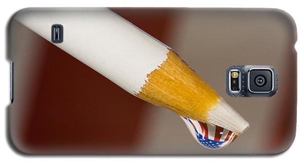 Pencil Flag Drop Galaxy S5 Case