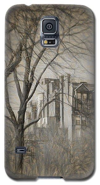 Pencil Sketch Of Beacon Hill Galaxy S5 Case