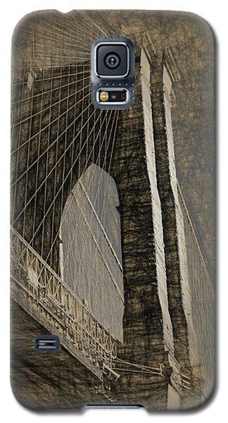 Pencil Sketch Of The Brooklyn Bridge Galaxy S5 Case