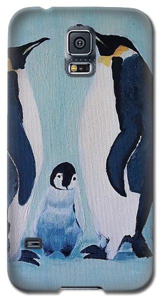 Penguin Family  Galaxy S5 Case