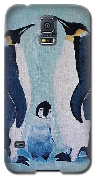 Penguin Family  Galaxy S5 Case