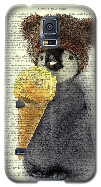 Ice Galaxy S5 Case - Penguin Ice Cream by Madame Memento