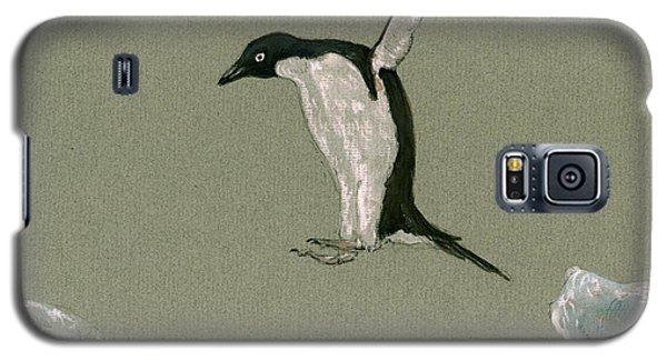 Penguin Jumping Galaxy S5 Case