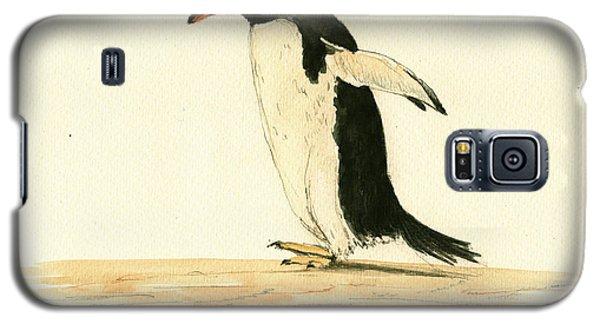 Penguin Walking Galaxy S5 Case