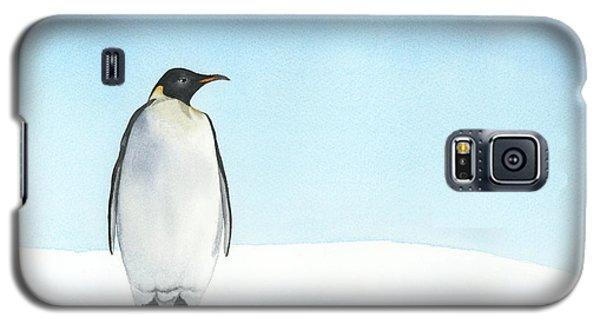 Penguin Watercolor Galaxy S5 Case by Taylan Apukovska