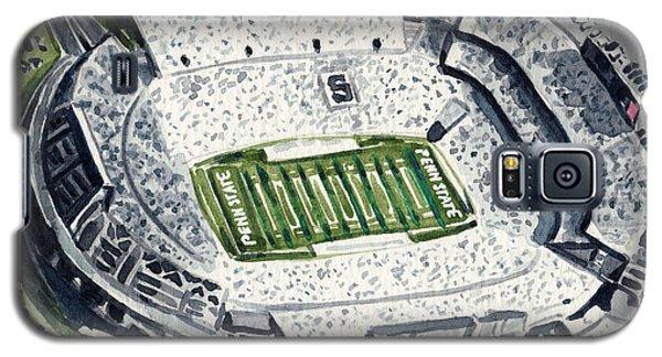 Penn State Beaver Stadium Whiteout Game University Psu Nittany Lions Joe Paterno Galaxy S5 Case by Laura Row