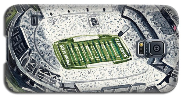 Penn State Beaver Stadium Whiteout Game University Psu Nittany Lions Joe Paterno Galaxy S5 Case by Laura Row