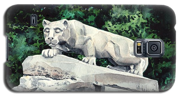 Penn State Nittany Lion Shrine University Happy Valley Joe Paterno Galaxy S5 Case by Laura Row