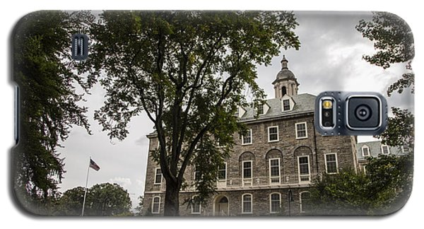 Penn State Old Main And Tree Galaxy S5 Case by John McGraw