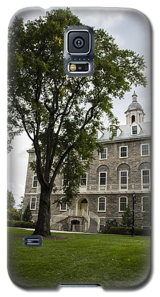 Penn State Old Main From Side  Galaxy S5 Case by John McGraw