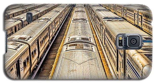 Penn Station Train Yard Galaxy S5 Case