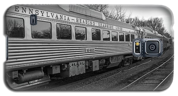 Galaxy S5 Case featuring the photograph Pennsylvania Reading Seashore Lines Train by Terry DeLuco