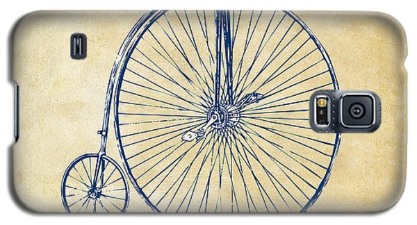 Bicycle Galaxy S5 Case - Penny-farthing 1867 High Wheeler Bicycle Vintage by Nikki Marie Smith