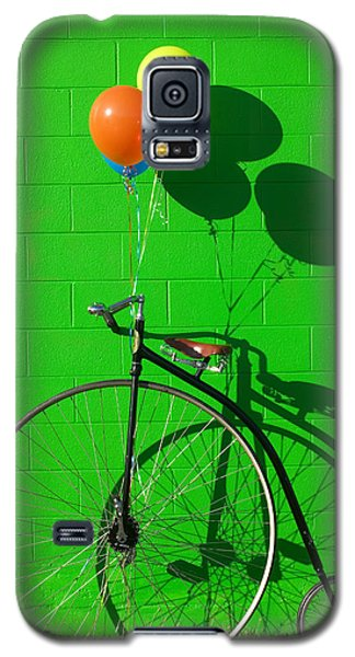 Bicycle Galaxy S5 Case - Penny Farthing Bike by Garry Gay