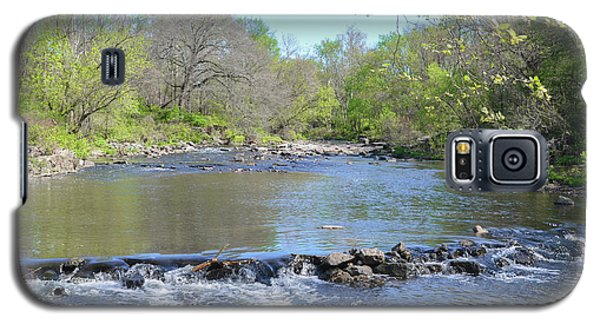 Galaxy S5 Case featuring the photograph Pennypack Creek - Philadelphia by Bill Cannon