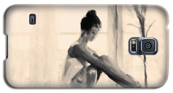 Pensive Ballerina Galaxy S5 Case