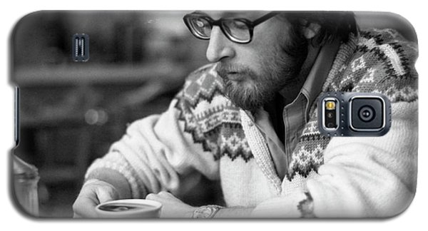 Pensive Brown Student, Louis Restaurant, 1976 Galaxy S5 Case