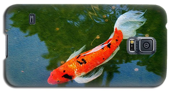 Pensive Koi Galaxy S5 Case