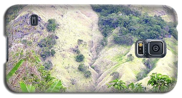 Penuelas, Puerto Rico Mountains Galaxy S5 Case