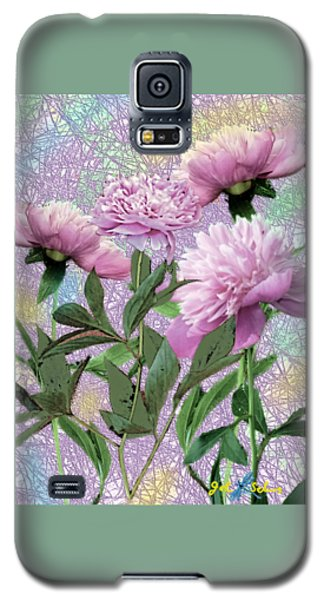 Peonies 6 Galaxy S5 Case
