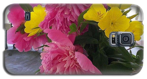 Peonies And Primroses Galaxy S5 Case