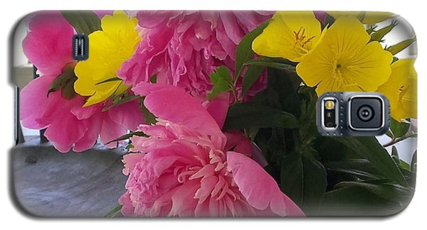 Peonies And Primroses Galaxy S5 Case