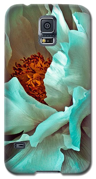 Peony Flower Galaxy S5 Case by Chris Lord