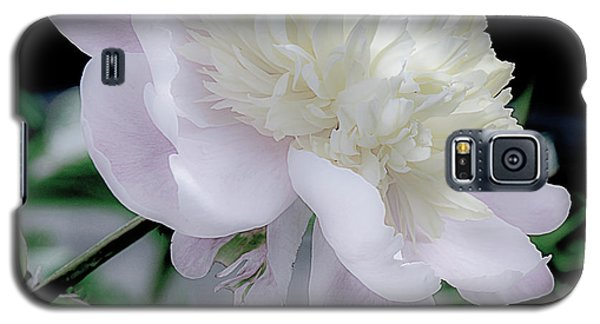 Galaxy S5 Case featuring the photograph Peony In Bloom by Julie Palencia