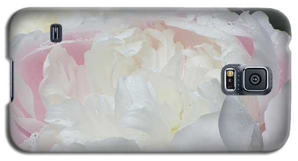 Galaxy S5 Case featuring the photograph Peony by Karen Shackles