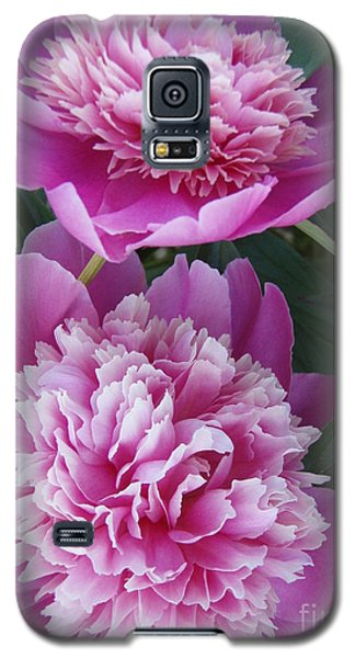 Galaxy S5 Case featuring the photograph Peony by Kristine Nora