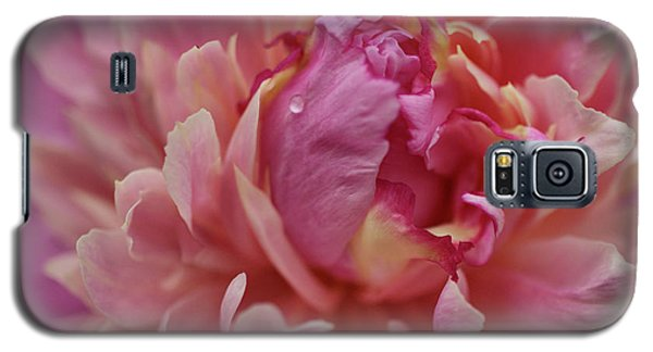 Peony Opening Galaxy S5 Case by Sandy Keeton
