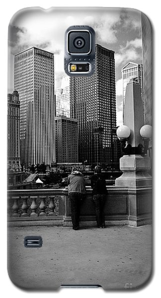 People And Skyscrapers Galaxy S5 Case