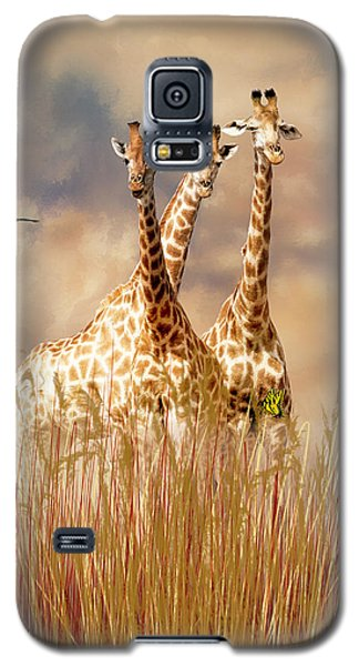 Galaxy S5 Case featuring the photograph People Watchers by Diane Schuster